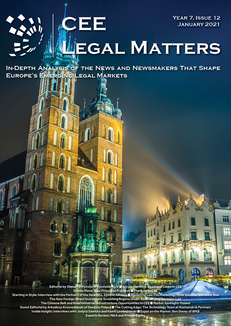 CEE Legal Matters: Issue 7.12