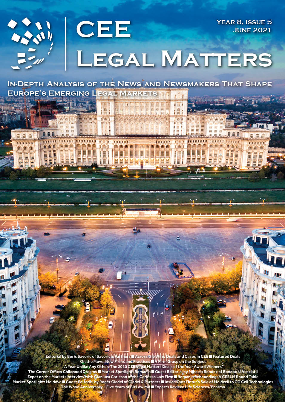 CEE Legal Matters: Issue 8.5